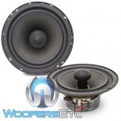 "DC Audio DC61-2 6.5"" 80W RMS 2-Way Convertible Coaxial Speakers"