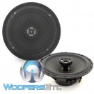 "MB Quart DCE-116 6.5"" 4-Ohm Coaxial Speakers with Grills"