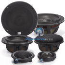 """Elate Carbon 63A - Morel 6.5"""" 3-Way Component System"""