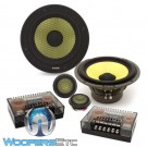"Focal ES-165K 6.5"" 100W RMS 2-Way K2 Power Component Speakers System"