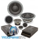 "Dynaudio ESOTAN 372 6.5"" 120W RMS 3-Way Component Speakers System"