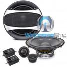 "Power Acoustik GF-60C 6.5"" 350W Peak 2-Way Component Speakers System"