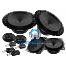 "Audison APK163 Prima 6.5"" 4"" 375W 3-way Component Speakers Tweeters Crossovers"