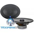 """CDT Audio HD-690CFX.2 6"""" x 9"""" 200W RMS 2-Ohm Carbon Fiber Motorcycle Subwoofer"""