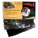 10400 Black - HushMat 20 Sheets 12.1x23 39 SQ Ft Floor-Dash Mat