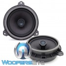 "Focal IC-165TOY 6.5"" 60W RMS 2-Way Coaxial Speakers for Select Toyota Models"