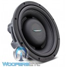 "Image Dynamics IDQS10D4 10"" 200W RMS Dual 4-Ohm Shallow Subwoofer"