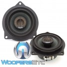 "Focal IFBMW-C 4"" Direct Upgrade 2-Way Coaxial Speakers For Select BMW Vehicles"