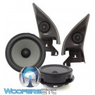 "Focal IFVW Golf 6 6.5"" Direct Upgrade 2-Way Component Speakers for Select Volkswagen Models"