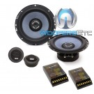 "Gladen RS165 6.5"" 100W RMS RS Line Series Component Speaker System"