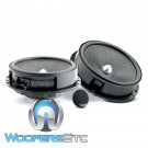 "Focal IS-165VW 6.5"" 2-Way DIrect Upgrade Component Speakers For Select Volkswagen Models"
