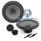 "Focal ISN 165 6.5"" 60W RMS Integration Series Slim 2-Way Component Speakers"