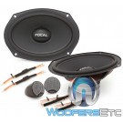 "Focal ISU 690 6""x9"" 80W RMS 2-Way Component Speakers System"