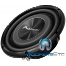 """TS-A2500LS4 - Pioneer 10"""" 300W Shallow-Mount Subwoofer"""