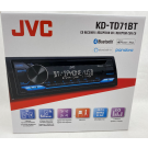 JVC KD-TD71BT In-Dash 1-DIN CD/MP3 Stereo Receiver with Bluetooth
