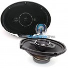 "KFC-6985PS - Kenwood 6"" x 9"" 4-Way 600W Each Side 1200W Pair Coaxial Speakers with PET Tweeters"
