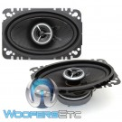 "Kenwood Excelon KFC-X463C 4"" x 6"" 30W RMS 2-Way Coaxial Speakers"
