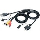 KS-U30 - JVC iPod A/V Cable For 2008-up JVC receivers