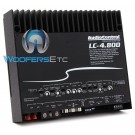 AudioControl LC-4.800 4-Channel 800W RMS Amplifier with Channel Summing