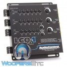 AudioControl LCQ-1 Black 6-Channel Line Output Converter with EQ and Accubass