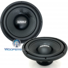 "Sundown Audio LCS v2 D4 10"" 300W RMS Dual 4Ohm Subwoofers (PAIR)"