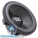"""DC Audio LV4 M2.1 18 D4 18"""" 1400W RMS Dual 4-Ohm Subwoofer"""