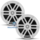 "M0-65 - Rockford Fosgate 6.5"" 65W RMS Color Optix™ Marine 2-Way Speakers (WHITE)"