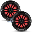 "M1-6B - Rockford Fosgate 6"" 150W RMS Color Optix™ Marine 2-Way Speakers (BLACK)"