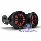 "Rockford Fosgate M1WL-65MB 6.5"" 250W 2-WAY MOTO-CAN OFF-ROAD Marine Tower Speakers"