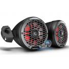 "Rockford Fosgate M2WL-65MB 6.5"" 150 Watts  M2 6.5"" ColorOptix™ Moto-Can Speakers Marine Speakers"