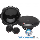 """Rockford Fosgate P1675-S 6.75"""" 120W 2-Way Component Speakers System"""