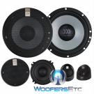 """Morel Maximo Ultra 603A MKII 6.5"""" 180W RMS Maximo Ultra Series 3-Way Component Speakers System (No Crossovers)"""