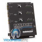 AudioControl Matrix Plus Black 6-Channel Line Driver with Optional Level Control