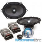 "Memphis MCX57C 5"" x 7"" 50W RMS MC Class 2-Way Component Speakers System"