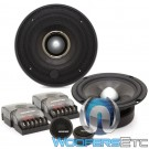 "Memphis MCX60S 6.5"" 65W RMS M-Class 2-Way Component Speakers System"