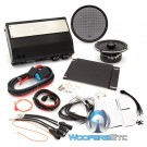 "Arc Audio MPAK12 Motorcycle Audio Kit with Moto 602 6.5"" Coaxial Speakers and Moto 600.4 4-Channel Amplifier (Compatible with 2015+ HD Roadglide only Motorcycles)"