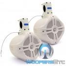 "MWT-65 White - Power Acoustik 6.5"" 500W Max Marine Grade Tower Speakers"