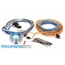 Memphis 17-MXA10GKIT 10-AWG Powersports Amplifier Installation Kit with Speaker Wire
