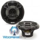 "Memphis MXA602SB 6.5"" 40W RMS 2-Way Marine Grade Construction Coaxial Speakers"