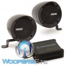 "Memphis MXABMB2 3"" Bullet Style MXA Powersports Speaker Kit (Black)"