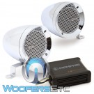 "Memphis MXABMC2 3"" Bullet Style MXA Powersports Speaker Kit (Chrome)"