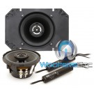 "MB Quart DKC-110 4"" x 6"" Coaxial Speakers"