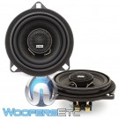 "Gladen ONE 100 BMW 4"" 60W RMS 2-Way One Line BMW Series Coaxial Speakers"