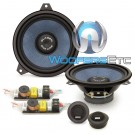 "Gladen ONE 165 BMW E46 6.5"" 100W RMS 2-Way Component Speakers System for BMW E46"
