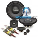 "Gladen ONE 200 GOLF5 8"" / 4"" 120W RMS 3-Way Component Speakers System"