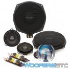 "Gladen ONE 201 BMW EXTREME 8"" and 4"" 150W RMS 3-Way Component Speakers System for Select BMW Models"