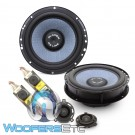 "Gladen ONE 165 GOLF6 RS 6.5"" 100W RMS 2-Way Component Speakers System for Volkswagen Golf 6, Scirocco and Jetta"