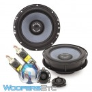 "Gladen ONE 165 GOLF7 RS 6.5"" 100W RMS 2-Way Component Speakers System for Volkswagen Golf 7"