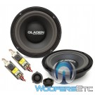 "Gladen ONE 200 GOLF4 8"" 100W RMS 3-Way Component Speakers System for Volkswagen Golf 4"