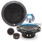 """Rockford Fosgate P16-S 6.5"""" 60W RMS Component Speakers System"""